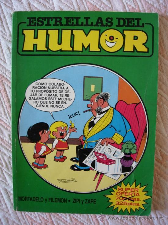 ESTRELLAS DEL HUMOR Nº 14 O 9 MORTADELO Y FILEMON ZIPI Y ZAPE SUPER LOPEZ TRIBULETE PEPE GOTERA (Tebeos y Comics - Ediciones B - Humor)