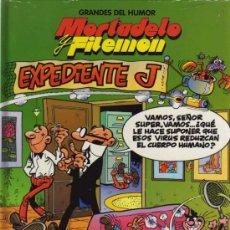 Cómics: MORTADELO Y FILEMÓN - EXPEDIENTE J - FRANCISCO IBAÑEZ - EL PERIÓDICO Nº 1. Lote 28085680