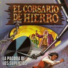 Cómics: EL CORSARIO DE HIERRO EDICIÓN HISTÓRICA - Nº 8 - EDICIONES B. Lote 28176502