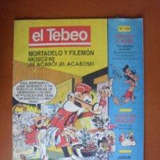 Cómics: EL TEBEO Nº 108 -- EDICIONES B 1991. Lote 28245136
