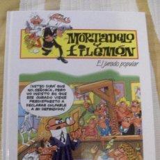 Cómics: TOMO MORTADELO Y FILEMON EL JURADO POPULAR, TAPA DURA . Lote 28518272