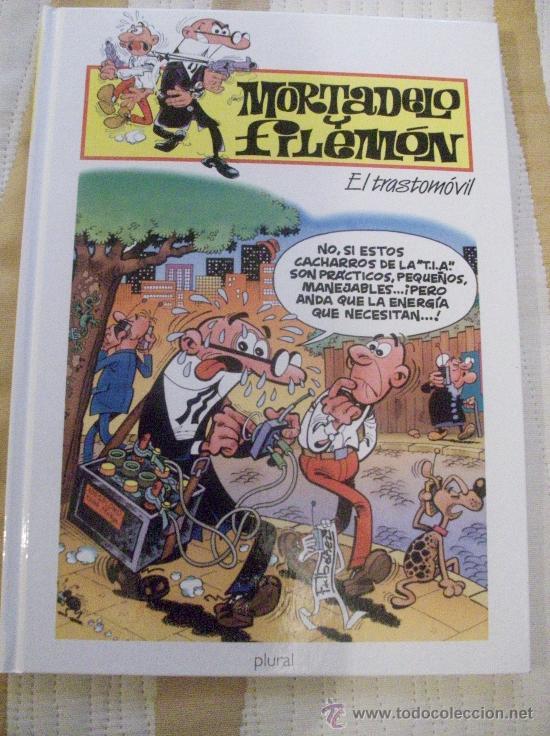 TOMO MORTADELO Y FILEMON EL TRASTOMOVIL, TAPA DURA (Tebeos y Comics - Ediciones B - Humor)