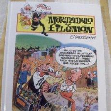 Cómics: TOMO MORTADELO Y FILEMON EL TRASTOMOVIL, TAPA DURA . Lote 28518280