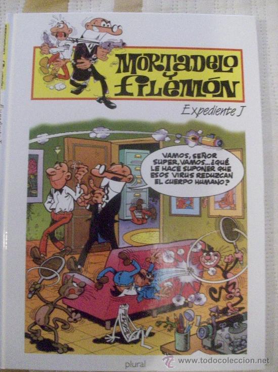 TOMO MORTADELO Y FILEMON EXPEDIENTE J TAPA DURA (Tebeos y Comics - Ediciones B - Humor)