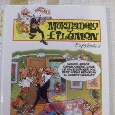 Cómics: TOMO MORTADELO Y FILEMON EXPEDIENTE J TAPA DURA. Lote 28518284