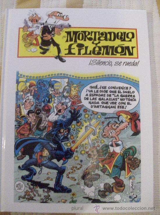 LIBRO MORTADELO Y FILEMON SILENCIO SE RUEDA, TAPA DURA (Tebeos y Comics - Ediciones B - Humor)