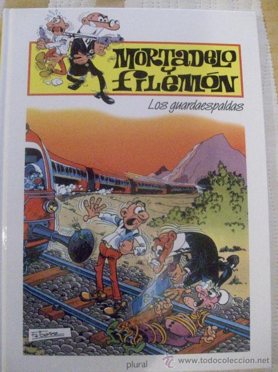 TOMO MORTADELO Y FILEMON LOS GUARDAESPALDAS TAPA DURA (Tebeos y Comics - Ediciones B - Humor)