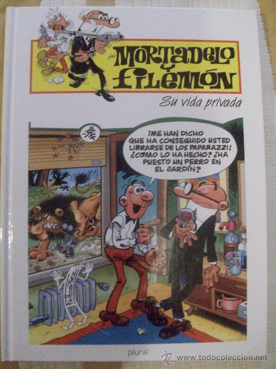 TOMO MORTADELO Y FILEMON SU VIDA PRIVADA, TAPA DURA (Tebeos y Comics - Ediciones B - Humor)