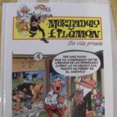 Cómics: TOMO MORTADELO Y FILEMON SU VIDA PRIVADA, TAPA DURA. Lote 28518330