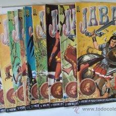 Cómics: JABATO DEL Nº 1 AL 12 COLECCION HISTORICA EDICIONES B 1987. Lote 28612600