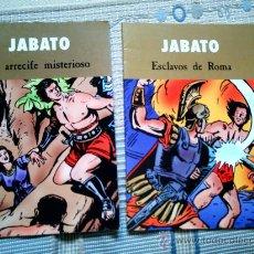 Cómics: LOTE EL JABATO, DE DARNIS Y MORA: ESCLAVOS DE ROMA Y EL ARRECIFE MISTERIOSO. Lote 28659553