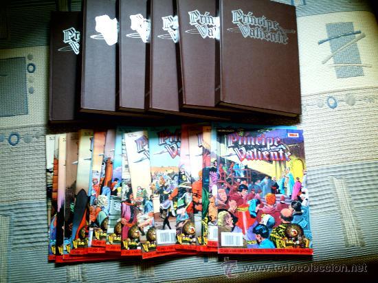 PRINCIPE VALIENTE DE FOSTER Y C. MURPHY TOMOS 1 A 6 (FASC. 1 A 72) Y FASC. 73 A 91 (COLEC. COMPLETA) (Tebeos y Comics - Ediciones B - Otros)