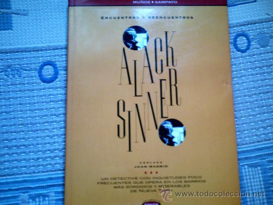 ALACK SINNER. ENCUENTROS Y REENCUENTROS, DE MUÑOZ Y SAMPAYO (Tebeos y Comics - Ediciones B - Otros)