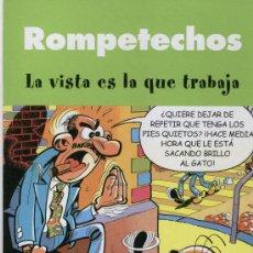 Cómics: LOTE 3 TEBEOS (ROMPETECHOS, ZIPI Y ZAPE, PEPE GOTERA Y OTILIO). Lote 28822759