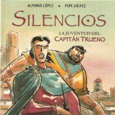 Cómics: LA JUVENTUD DEL CAPITAN TRUENO, SILENCIOS. Lote 29123531