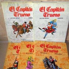 Cómics: EL CAPITÁN TRUENO - VÍCTOR MORA - FUENTES MAN / AMBRÓS - COMPLETA - MUY BUEN ESTADO - Y SUELTOS. Lote 29332323