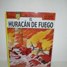 Cómics: LEFRANC 2: EL HURACAN DE FUEGO - JACQUES MARTIN - EDITORIAL NETCOM2. Lote 195358423