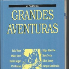 Cómics: GRANDES AVENTURAS / FACSICULOS DE EL PERIÓDICO / TOMO 2 COMPLETO PARA ENCUADERNAR. Lote 29699405