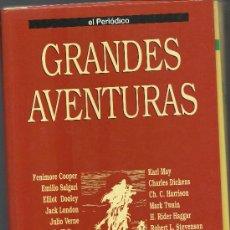 Cómics: GRANDES AVENTURAS / FACSICULOS DE EL PERIÓDICO / TOMO 1 CARPETA PARA ENCUADERNAR FALTA EL Nº 9 Y 25. Lote 29699549