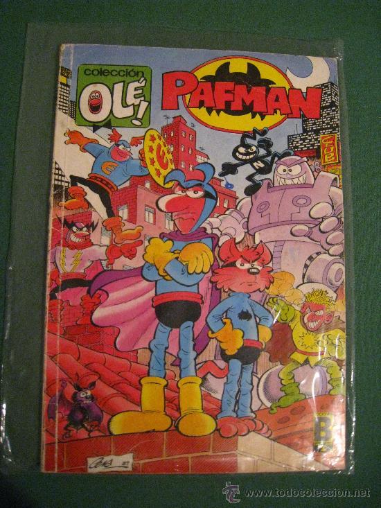 OLÉ PAFMAN 361 V.13 (Tebeos y Comics - Ediciones B - Humor)