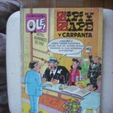Comics : ZIPI Y ZAPE Y CARPANTA COLECION OLE 2ª EDICION JUNIO 1987. Lote 29992510