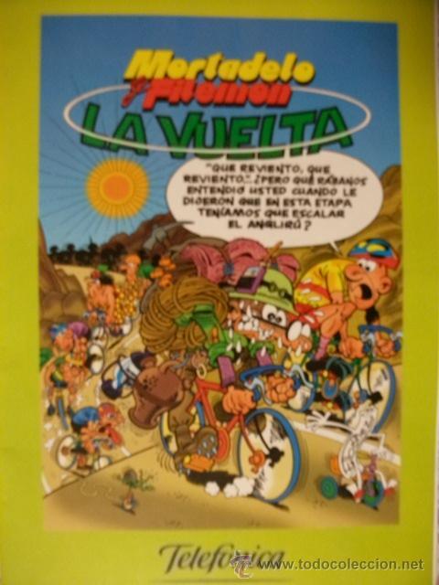 MORTADELO Y FILEMON. LA VUELTA.EDICIONES B 2000. EDICIÓN ESPECIAL TELEFONICA (Tebeos y Comics - Ediciones B - Clásicos Españoles)