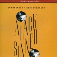 Cómics: ALACK SINNER - ENCUENTROS Y REENCUENTROS - LOS LIBROS DE CO&CO Nº 4 - EDICIONES B 1ª EDICIÓN 1993. Lote 30317277