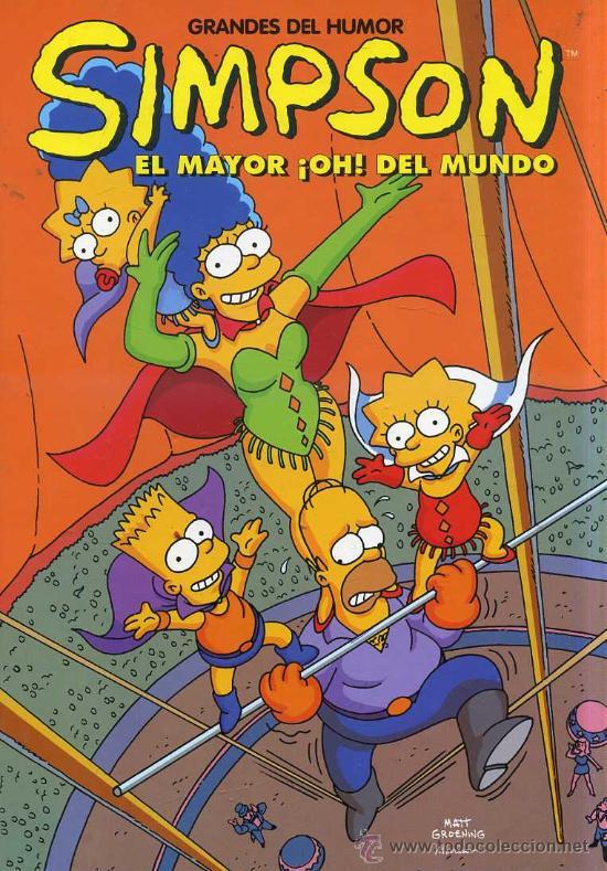 GRANDES DE HUMOR Nº 13 : SIMPSON (1994) (Tebeos y Comics - Ediciones B - Humor)