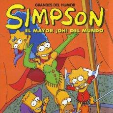 Cómics: GRANDES DE HUMOR Nº 13 : SIMPSON (1994). Lote 30527032