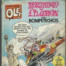 Cómics: .MORTADELO Y FILEMON.- COLECCION OLE . Lote 30529459