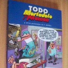 Cómics: TODO MORTADELO Y FILEMON Y OTROS PERSONAJES DE IBAÑEZ TOMO Nº 24. Lote 30924466