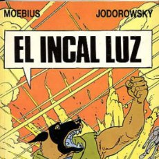 Cómics: MOEBIUS / JODOROWSKY - INCAL 2 - EL INCAL LUZ - DRAGON POCKET - EDICIONES B 1990 - FORMATO BOLSILLO . Lote 30783636