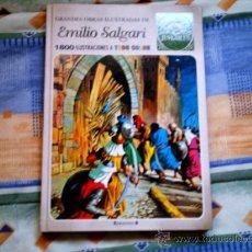 Cómics: JOYAS LITERARIAS JUVENILES EMILIO SALGARI 2 (EDICIONES B, CARTONE, COLOR, CONTIENE 6 AVENTURAS). Lote 31214230
