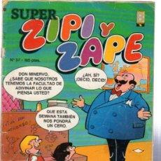 Cómics: ZIPI Y ZAPE, REVISTA JUVENIL, ESCOBAR, AÑO XV, Nº 57. Lote 31660354