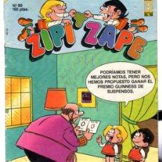Cómics: ZIPI Y ZAPE, Nº 89, EDICIONES B, GRUPO ZETA. Lote 31689615