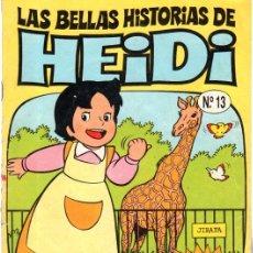 Cómics: LAS BELLAS HISTORIAS DE HEIDI, Nº 13, UNA VISITA AL ZOO, EDICIONES B. Lote 31691335