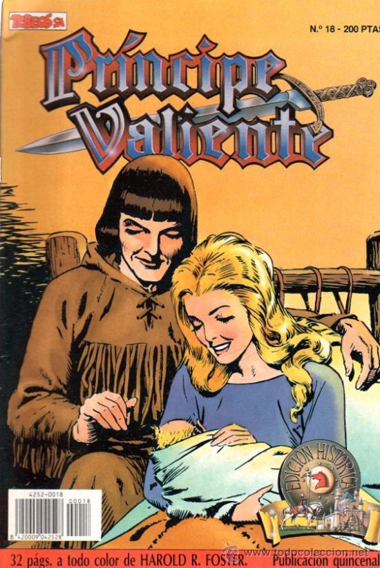 PRÍNCIPE VALIENTE, Nº 18, 1988, EDICIÓN HISTÓRICA (Tebeos y Comics - Ediciones B - Otros)