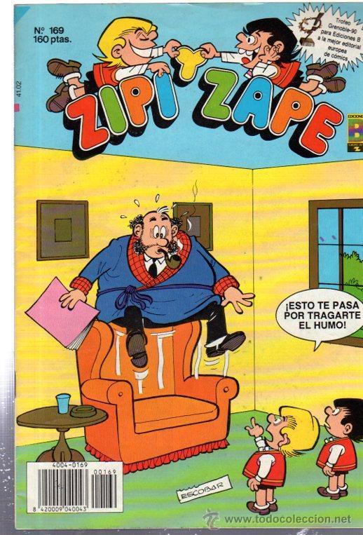 ZIPI Y ZAPE, Nº 169, EDICIONES B, ESCOBAR (Tebeos y Comics - Ediciones B - Humor)