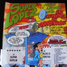 Cómics: EDICIONES B. SUPER LOPEZ. Nº 53. OJO LECTOR CON: LOS CERDITOS DE CAMPRODÓN. 225 PTAS. Lote 31770050