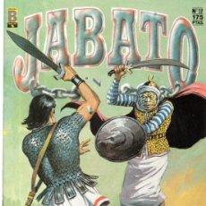 Cómics: JABATO, EDICIÓN HISTÓRICA, CARA DE HIERRA ATACA, Nº 37, EDICIONES B. Lote 31777484