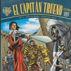 Cómics: B.FANS. EL CAPITÁN TRUENO EXTRA Nº 1. VICTOR MORA - FUENTES MAN.. Lote 31820185