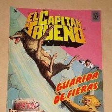 Cómics: CAPITÁN TRUENO EDICIÓN HISTÓRICA Nº 21. GUARIDA FIERAS. EDICIONES B, 1987. BERNAL, MORA, PARDO.. Lote 31912361