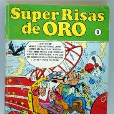 Cómics: SUPER RISAS DE ORO Nº 9 BRUGUERA EDICIONES B AÑOS 80 MORTADELO SUPER LÓPEZ ZIPI ZAPE. Lote 32495013