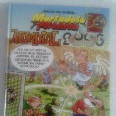 Cómics: MORTADELO Y FILEMON -MAGOS DEL HUMOR Nº 110- MUNDIAL 2006. Lote 32506797