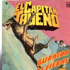 Cómics: EL CAPITAN TRUENO. GUARIDA DE FIERAS. Nº 21. EDICIONES B. COLECCION SUPER AVENTURAS.. Lote 32552794