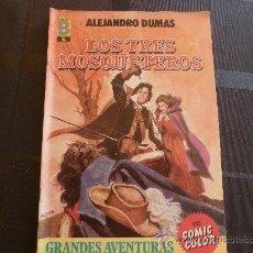 Cómics: COMIC-GRANDES AVENTURAS: LOS TRES MOSQUETEROS.. Lote 32582024