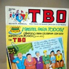 Cómics: COMIC, TBO, BRUGUERA, Nº 2, 1988. Lote 32637248