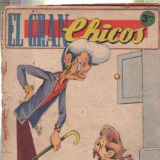 Cómics: EL GRAN CHICOS. JUNIO 1947. Nº 19. . Lote 32646314