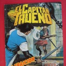 Cómics: EL CAPITAN TRUENO Nº 132. EDICION HISTORICA, EDICIONES B, AÑO 1989. 200 PESETAS. VER FOTOS. Lote 32904221