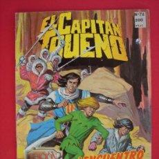 Cómics: EL CAPITAN TRUENO Nº 78. EDICION HISTORICA, EDICIONES B, AÑO 1988. 200 PESETAS. VER FOTOS. Lote 32904241